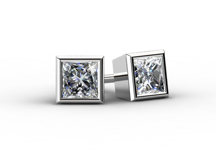 Diamond Earrings EPBW06 1.00ct front view